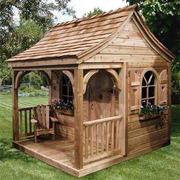 Изготовление деревянных детских домиков