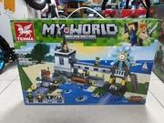 Конструктор лего Minecraft/Майнкрафт/Май ворлд/My world/Акция/Lego