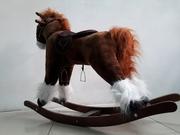 Большая музыкальная лошадка-качалка со скидкой! Акция! Подарок!